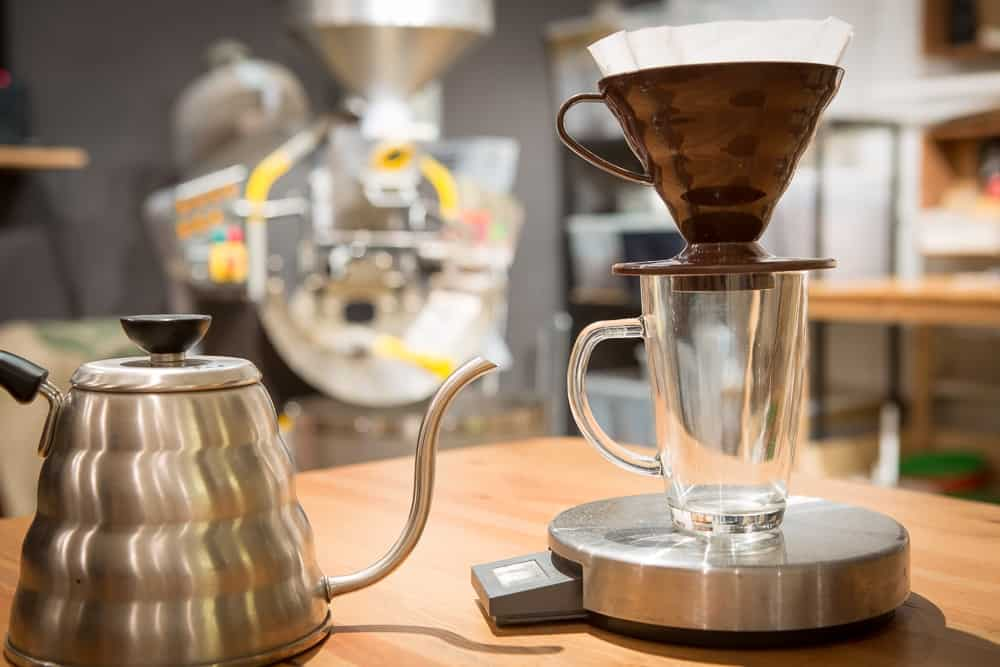How to make Pour Over Coffee - Step 3: Place Dripper - CoffeeHow.co