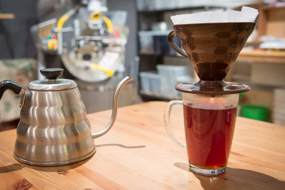 How to make Pour Over Coffee - Finish: Pour, and Enjoy - CoffeeHow.co