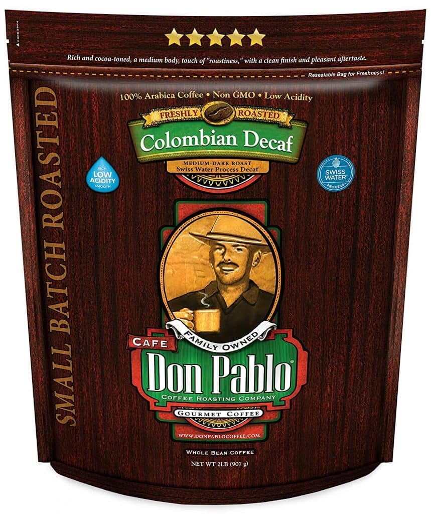 Don Pablo Colombian Medium-Dark Decaf