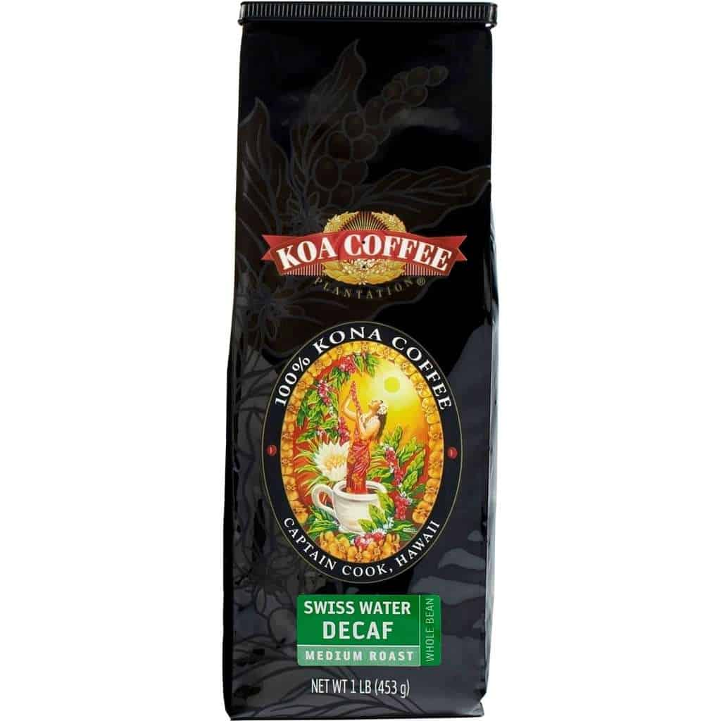Koa Coffee Decaf Kona