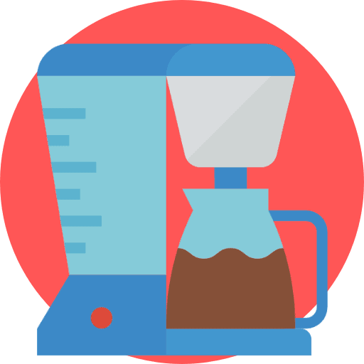 Drip coffee icon