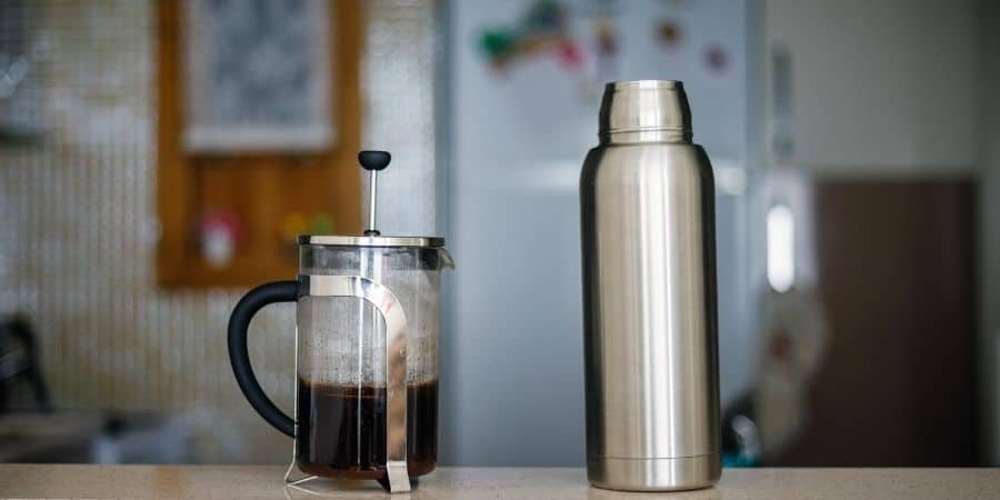 Thermos and FrenchPress