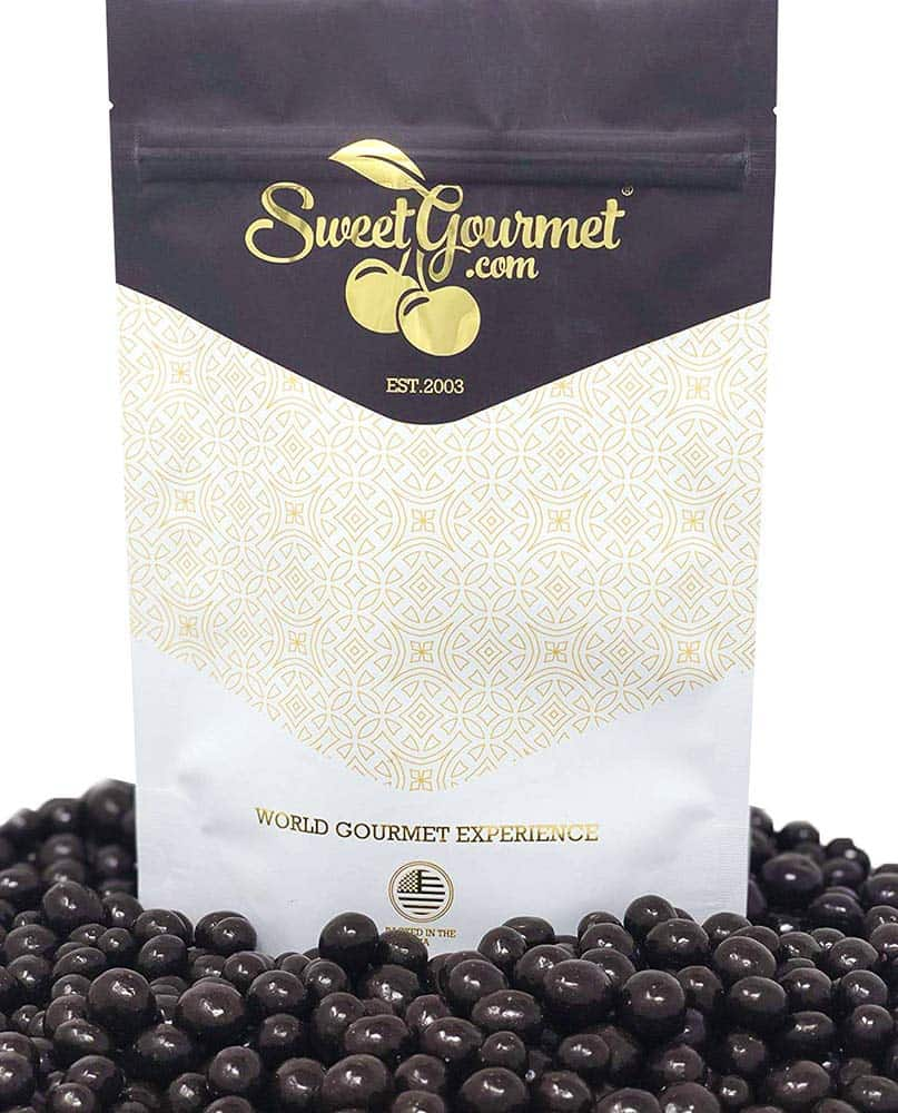 Sweet Gourmet Dark Chocolate Covered Espresso Coffee Beans