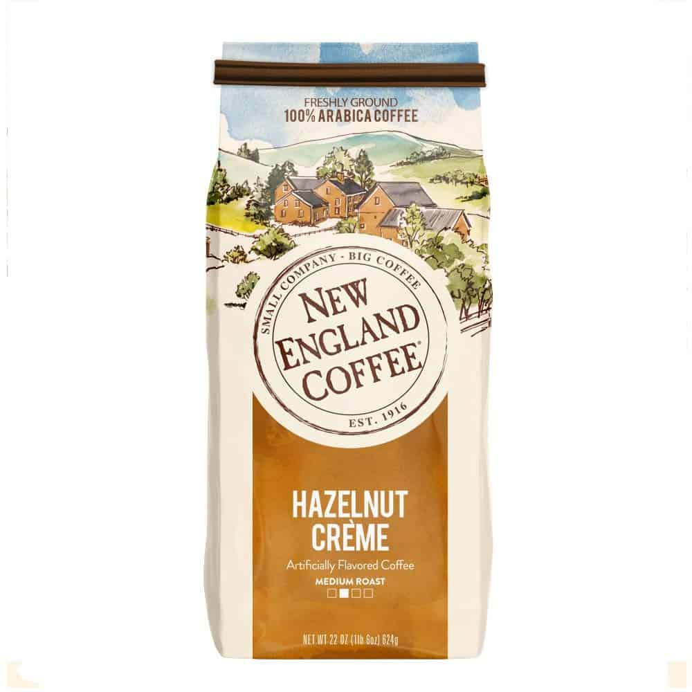 New England Coffee Hazelnut Crème Medium Roast