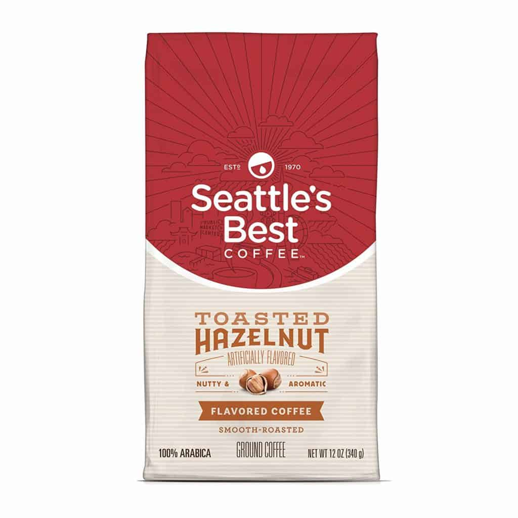 Seattles Best Coffee Toasted Hazelnut Medium Roast
