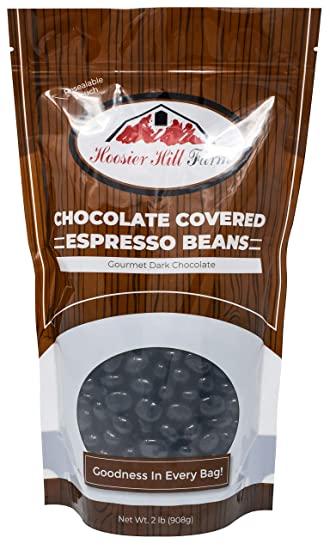 Hoosier Hill Farm Gourmet Dark Chocolate Espresso Beans