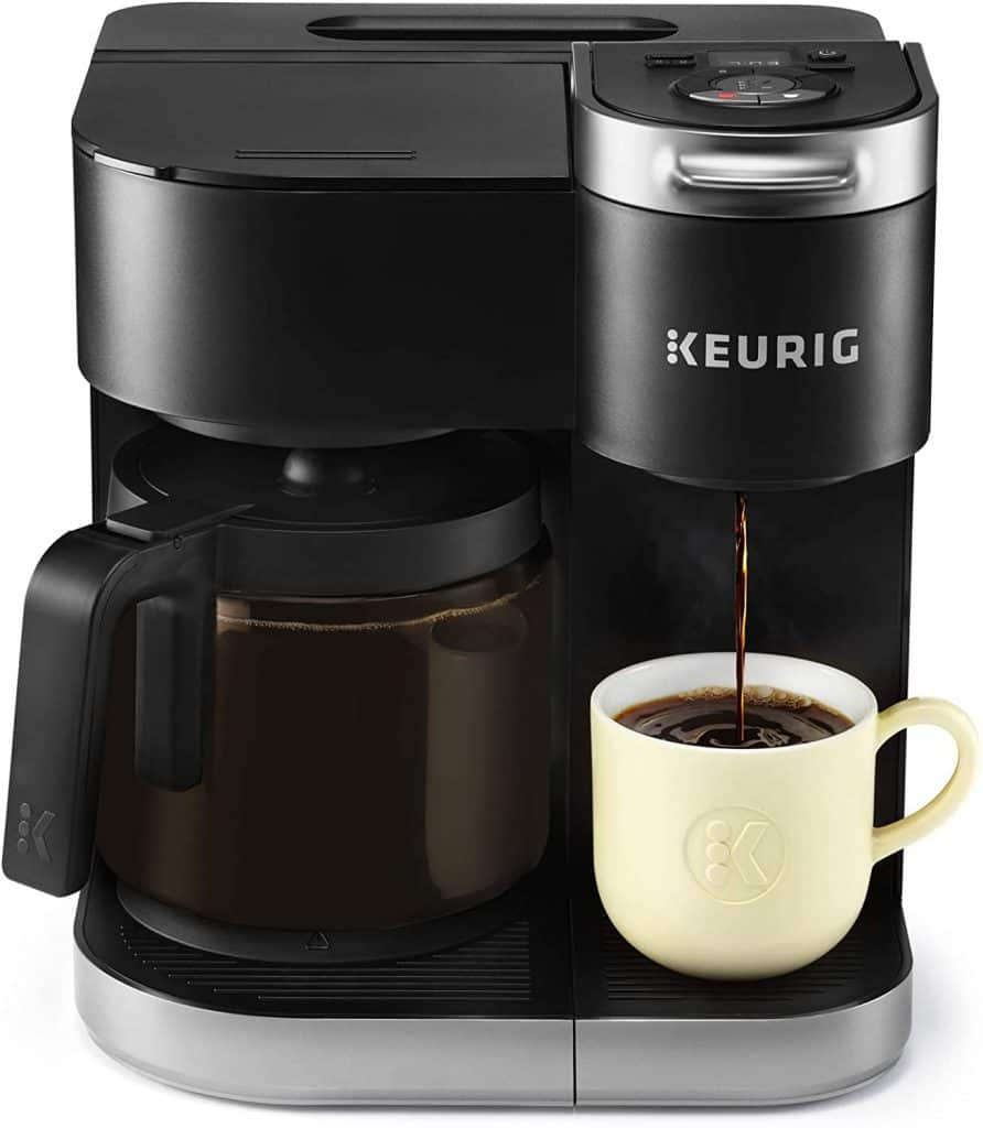 Keurig K-Duo 12-Cup Coffee Maker and Single-Serve K-Cup Brewer