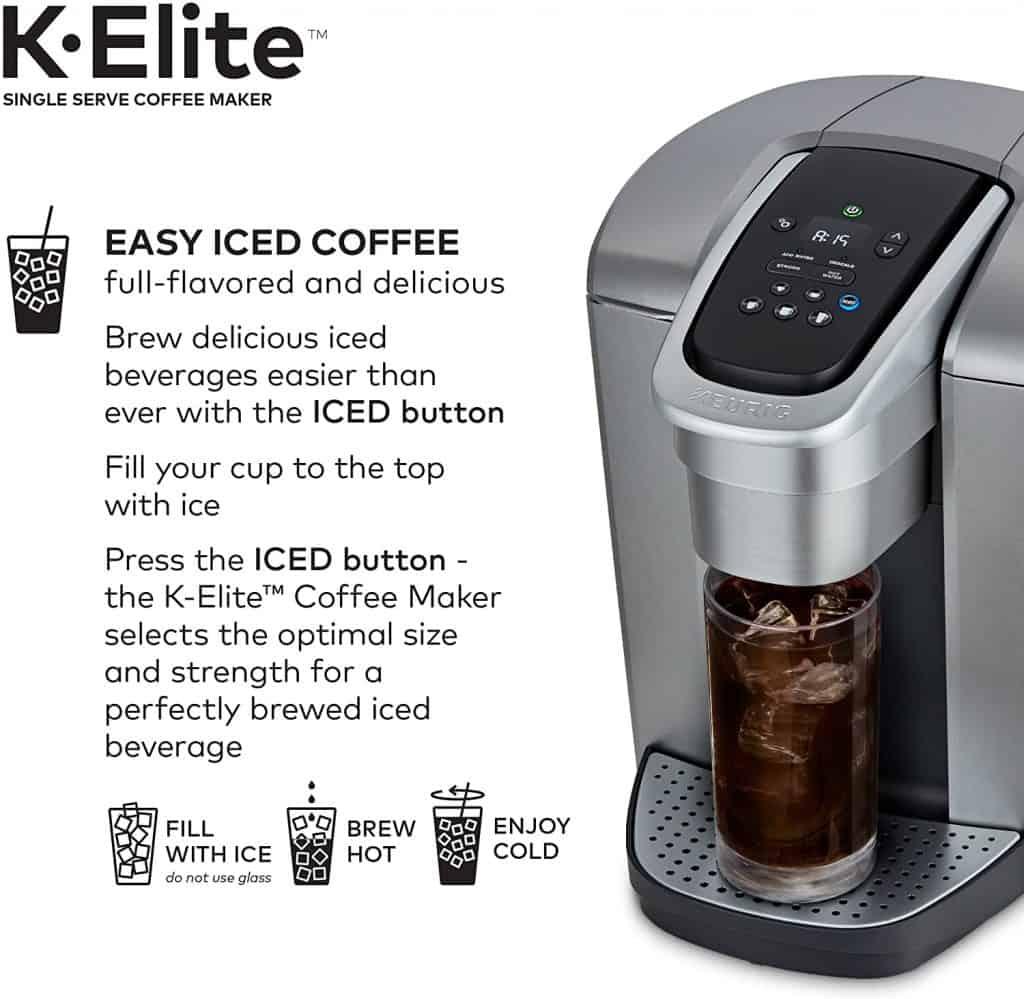 Keurig K-Elite - The iced coffee option