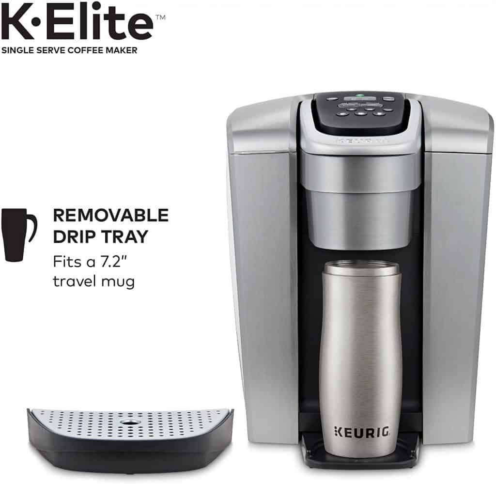 Keurig K-Elite - Removable Drip Tray