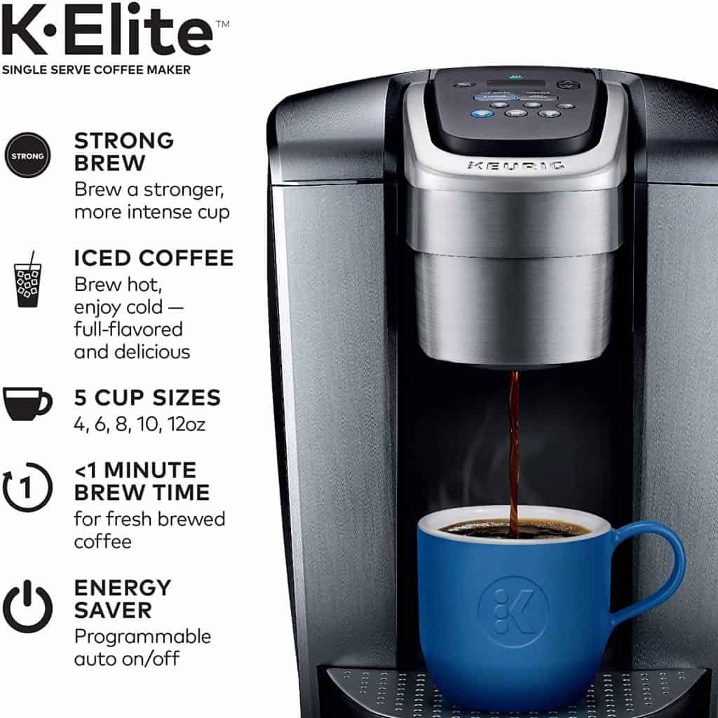 Keurig K-Elite - Customizable