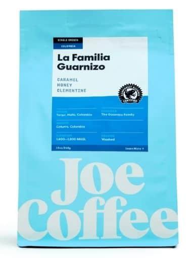 Joe Coffee – La Familia Guarnizo