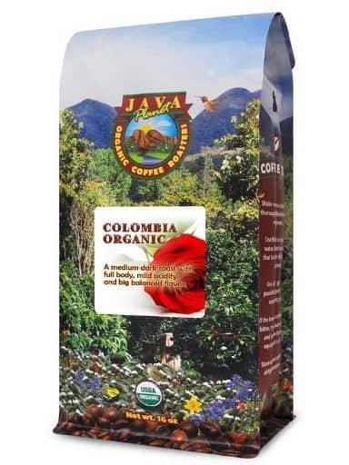 Java Planet Colombia Organic