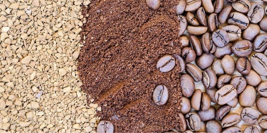 Spray or Freeze Dried Coffee