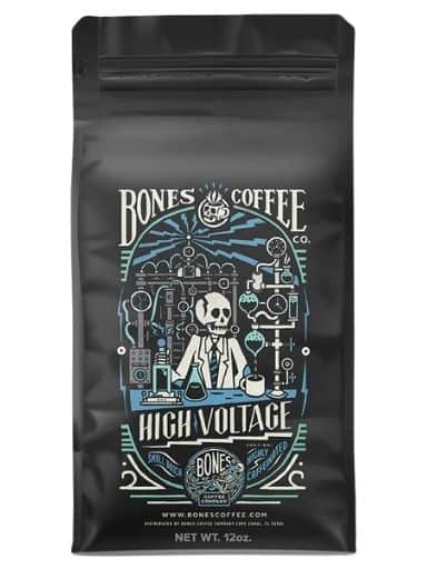 Bones Coffee High Voltage