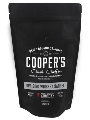 Coopers Cask Coffee Uprising Sumatra Coffee (Single Malt Whiskey Barrel Aged)