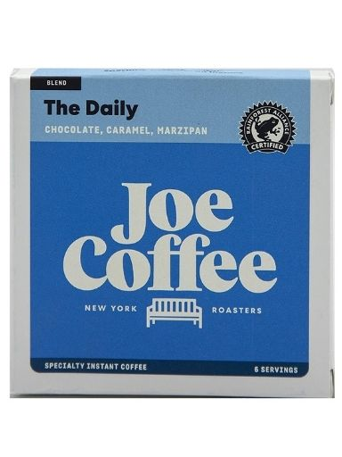 Joe Coffee Specialty Instant Coffee Packets, The Daily House Blend