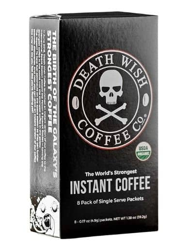 Death Wish Coffee Instant Coffee Sticks