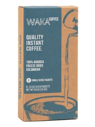 Waka Coffee Quality Instant Coffee, Colombian, Medium Roast