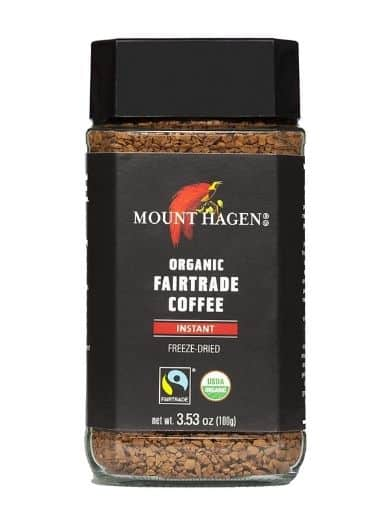 Mount Hagen Organic Fair Trade Freeze Dried Instant Coffee 3.53 oz