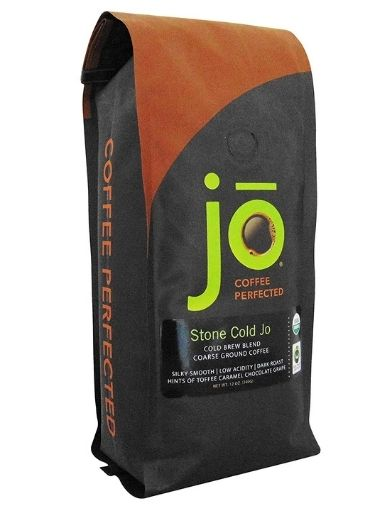 Stone Cold Jo Cold Brew Coarse Ground Organic Coffee