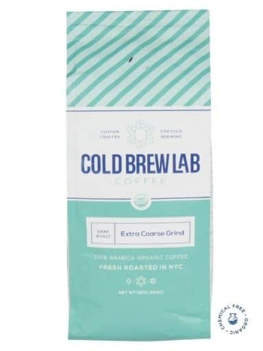 Cold Brew Lab Organic Dark Roast Colombian Supremo Coffee