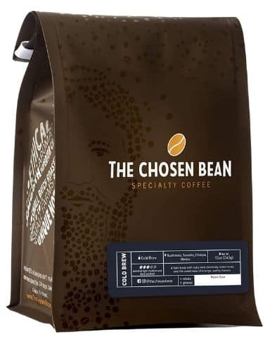 The Chosen Bean Chosen Cold Brew Coffee, Organic Freshly Roasted