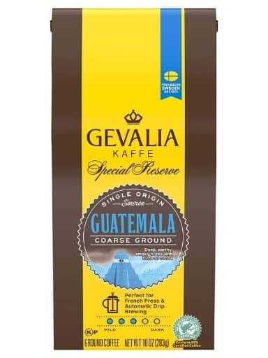 Gevalia Special Reserve Guatemala Medium Coffee