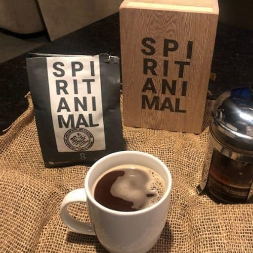 Spirit Animal's Coffee testing