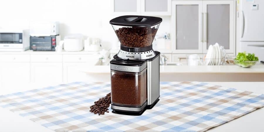 The Cuisinart supreme grind automatic burr mill