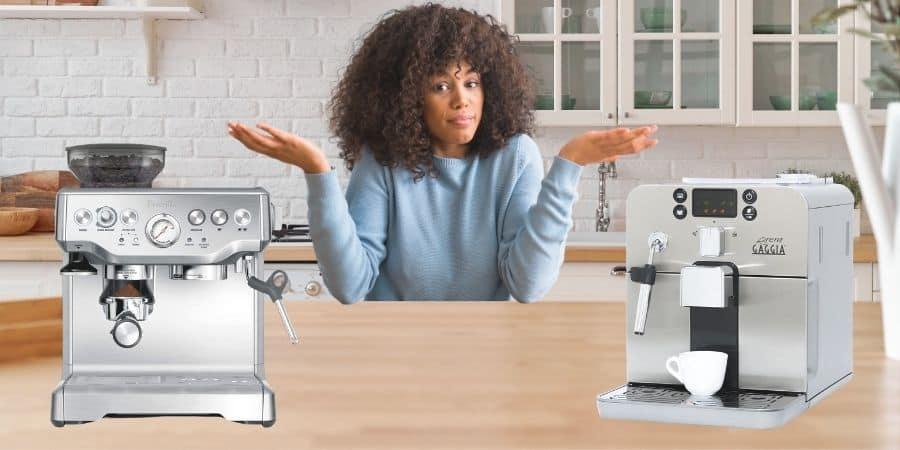 Automatic Espresso vs. Super-Automatic Espresso Machine