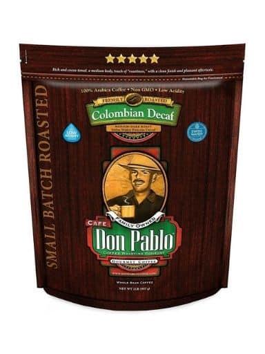 Don Pablo Colombian Medium-Dark Decaf