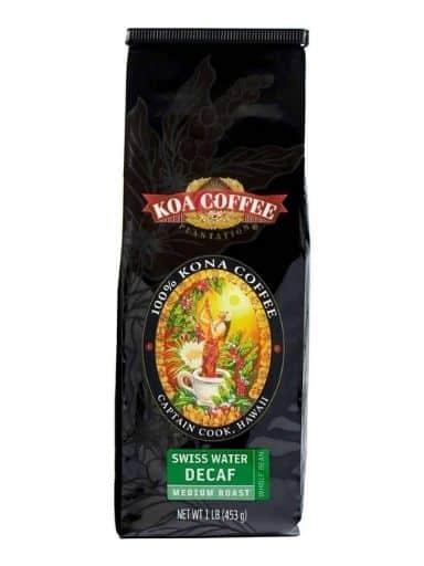 Koa Coffee Decaf Kona