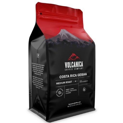 Volcanica Costa Rica Geisha Coffee, Natural Process