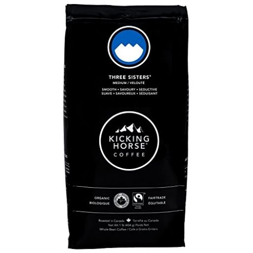 Kicking Horse Coffee, Organic, Three Sisters