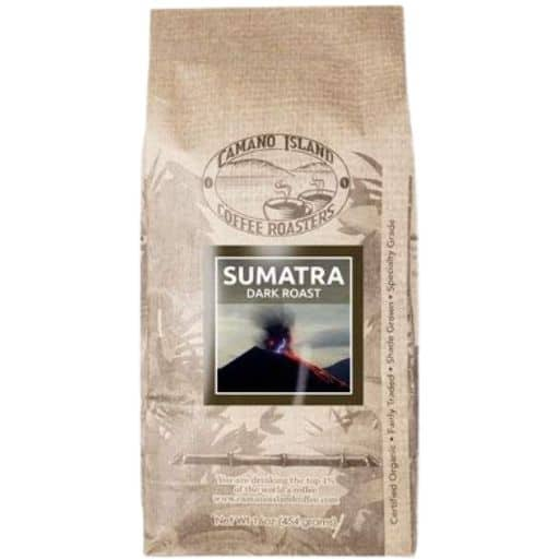 Camano Island Roasters Organic Sumatra Dark Roast