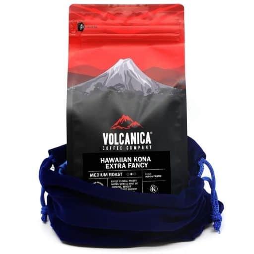 Volcanica Hawaiian Kona Extra Fancy Coffee