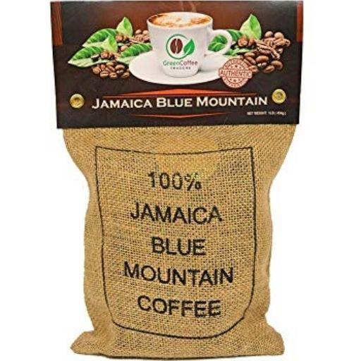 Green Coffee Traders Jamaican Blue Mountain Roasted Coffee