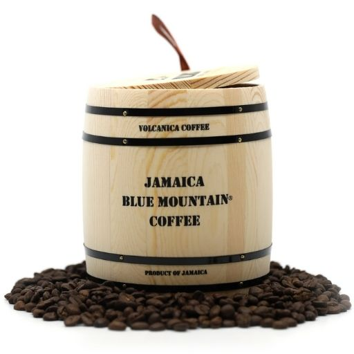 Volcanica (Gift Box Barrel) Jamaica Blue Mountain Coffee - Clydesdale